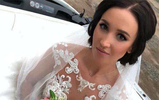 Ольга Бузова одела свадебное платье