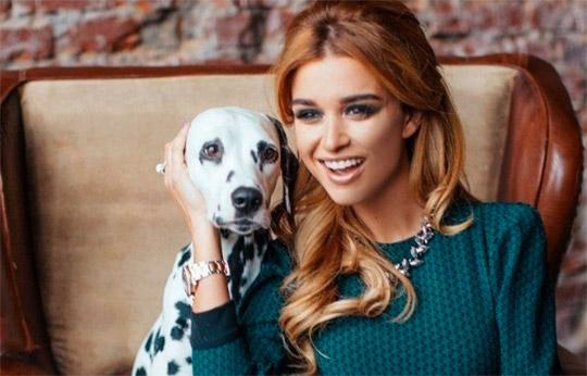 Ксения Бородина завела щенка